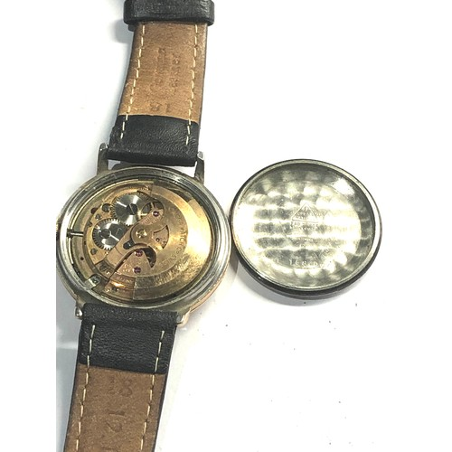 509 - Vintage Omega automatic chronometer constellation cal 561 non working order glass scratched and worn...