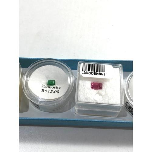 155 - Selection of gemstones