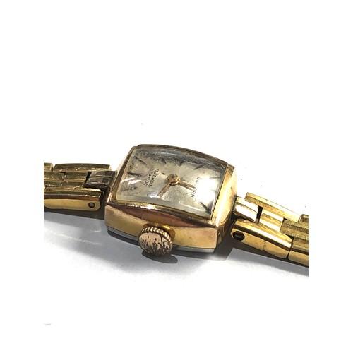 524 - Presentation unicorn by rolex vintage ladies wristwatch spares or repair