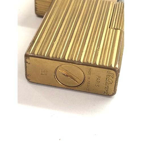 560 - Vintage Dupont cigarette lighter used condition