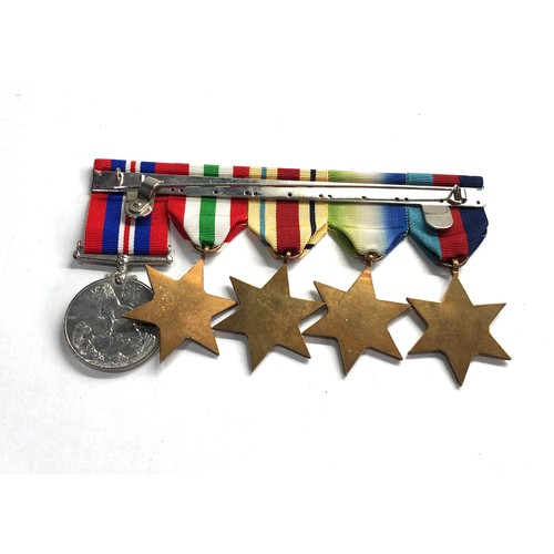 551 - ww2 mm military medal group to 3525997 bmbr a dixon r.a the m.m medal is marked copy