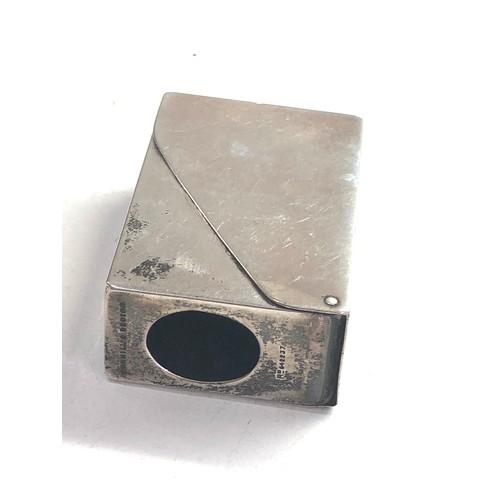 55 - Antique silver sampson morden Dunhill match box case swings open