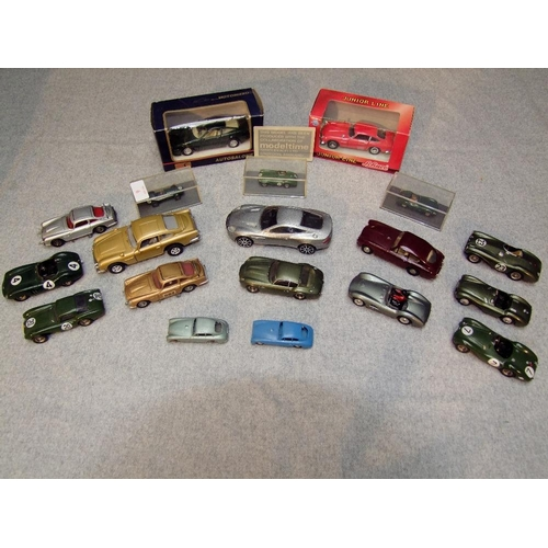 6 - Qty of die-cast models of Aston Martins by a selection of makers (20)...