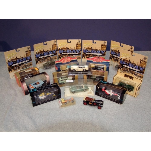 8 - Mixed selection of die-cast road, racing & military vehicles (20)...