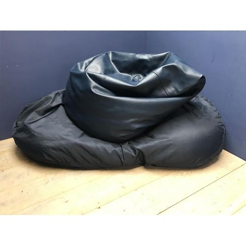 105 - 2 large bean bags...