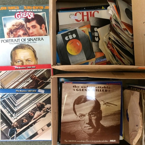 17 - Collection of records (75,45 & 33) mainly from the 1960s...