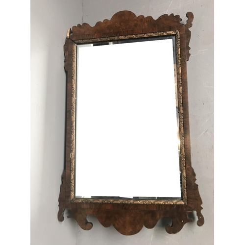 4 - General Clearance Lot: Georgian wall mirror (some restoration needed) 61x38cm...