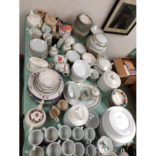 26 - Qty of general kitchen china...