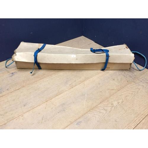 30 - Croquet set in cardboard box...