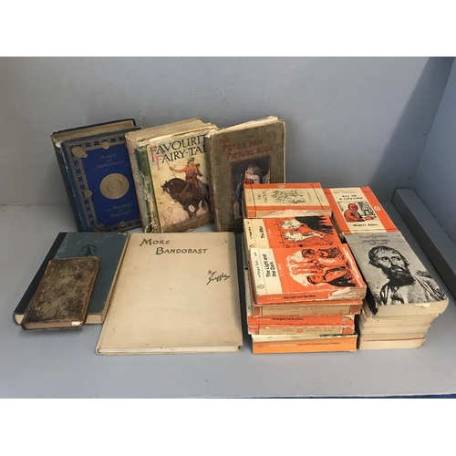 34 - Qty of Penguin classic, various well read children's books, more bandobast by Snaffles, Marks & Mono...