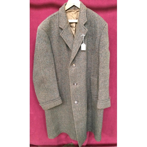 126 - 1950's Tweed mens coat Large...