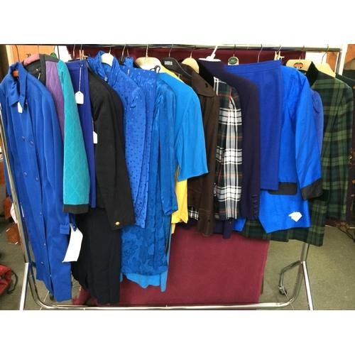 36 - Qty of ladies jackets & skirts, Antonette,Louis Feraud,Patsy Seddon Jaeger...