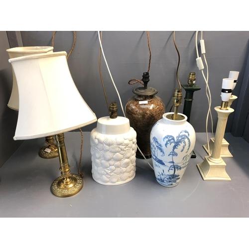 14 - Qty of lamps & lighting etc...