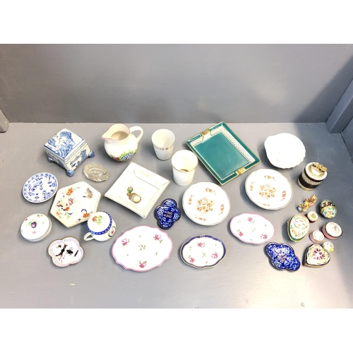 16 - Qty of decorative china including Limoges etc...