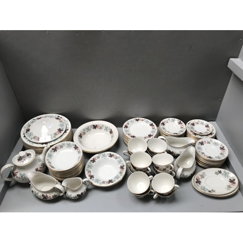 5 - Large dinner & tea service by Royal Doulton, 'Camelot' pattern...
