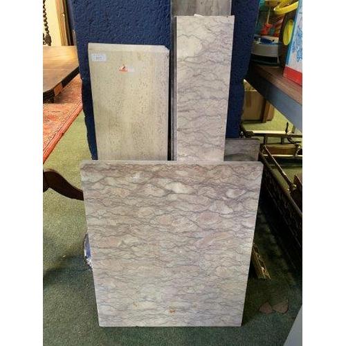 5 - Quantity of marble...