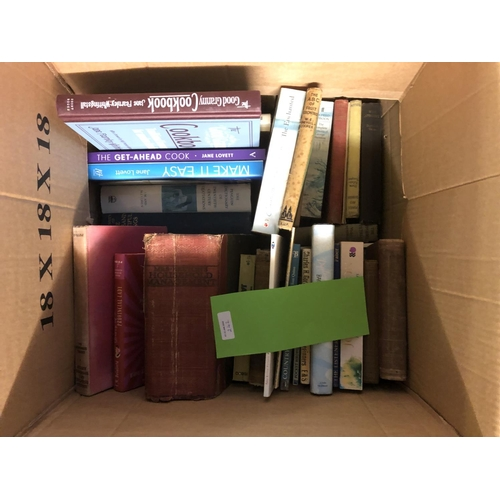 8 - Number of boxes mainly novels & reference books...