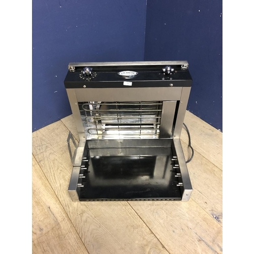 15 - Lacanche stainless steel rotisserie oven (as found)...