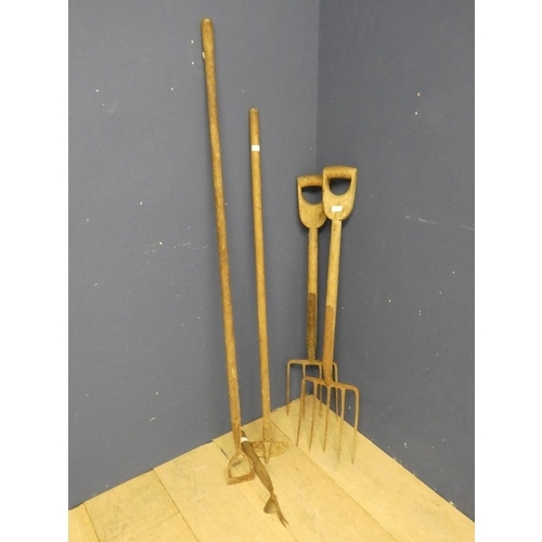 17 - Qty of garden tools...