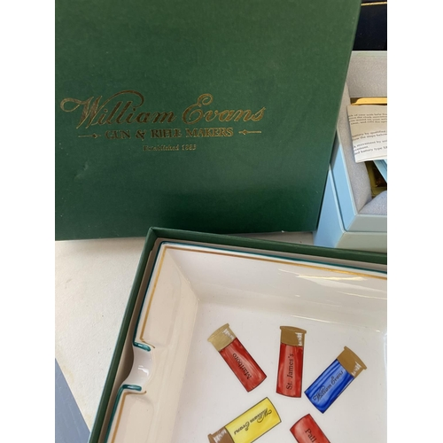 17 - Qty of good quality items and gifts to include Linley, Eximious, long matches, soaps, Dubarry porcel...