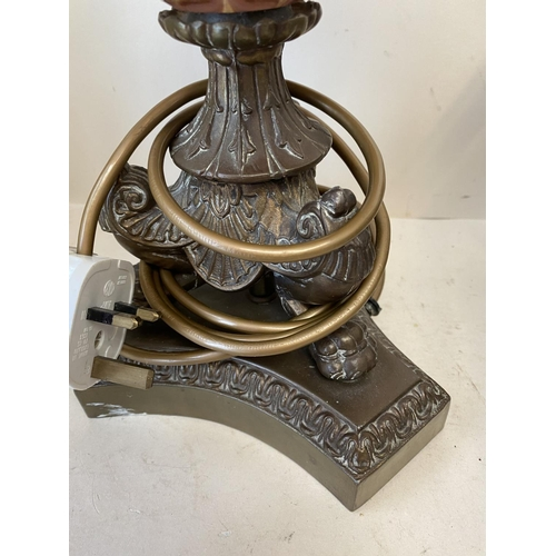 25 - Qty of good quality lighting and decorative metal candle holders...