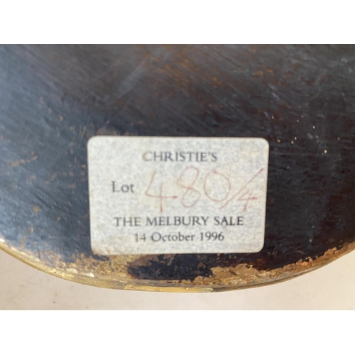 29 - Set of 4 Good quality decorative gilded wall brackets, provenance: Christies Lot 480 The Melbury Sal...