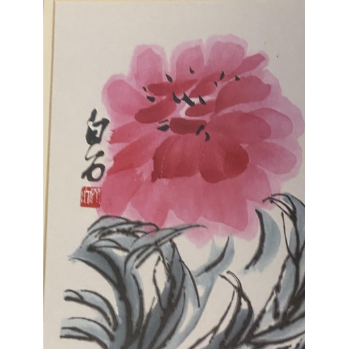 63 - 10 framed and glazed prints to include; set of 6 modern Chinese and a set of 4 fashion (condition al...