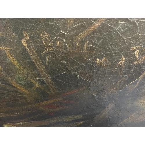 11 - Dutch School, C1800, Oil on Canvas,