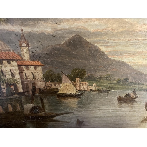 19 - Pair of Oil on canvas, Lakeland scenes, both signed indistinctly, E Horton,  each 29 x 39.5cmframed,...