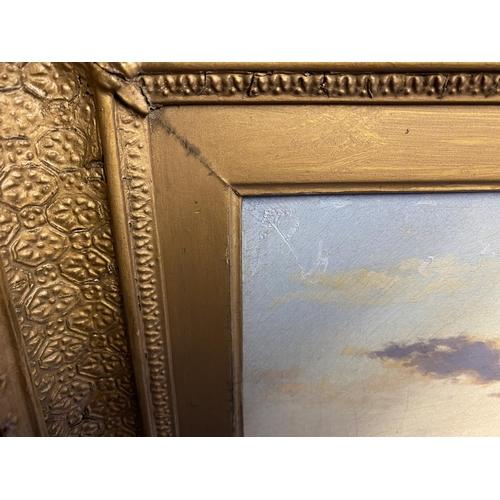 28 - C19th, Oil on canvas, English School,