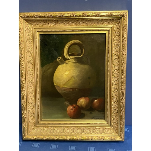 3 - JOHANN WILHELM PREYER (1803-1889), oil on canvas, still life