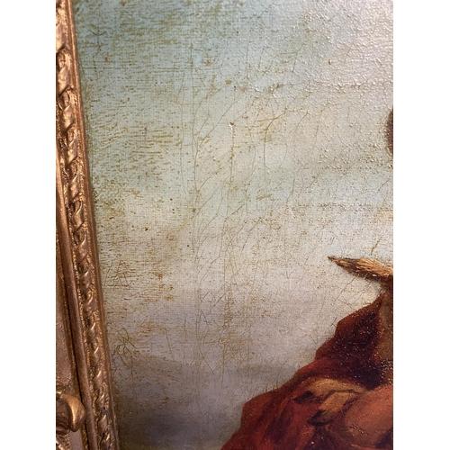 30 - Flemish school,  Oil on Canvas,