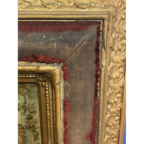 39 - Oil on wood panel ,