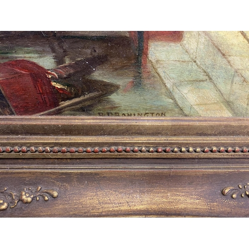 46 - RICHARD PARKES BONINGTON (1802 - 1828), oil on panel,