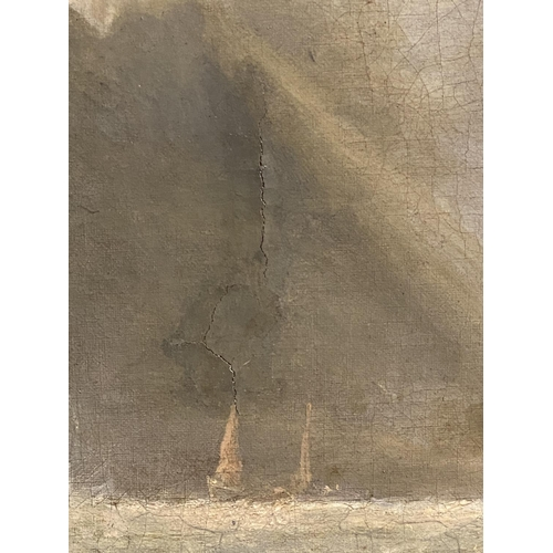 47 - JAMES WILSON CARMICHAEL (1800-1868), English School, oil on canvas,