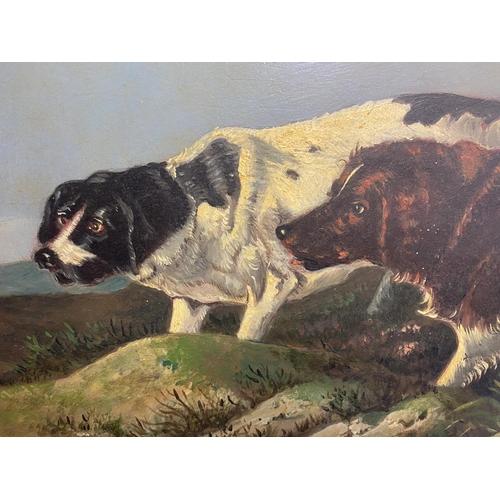 57 - Style of Thomas Blinks , Scottish School C 1890. Oil on wood panel,