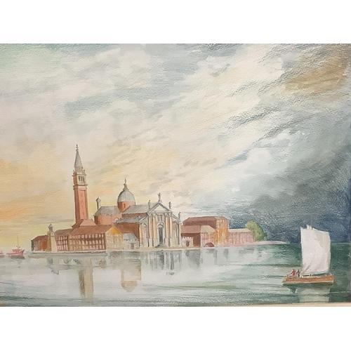 7 - PAUL JOHNSON C20 watercolour