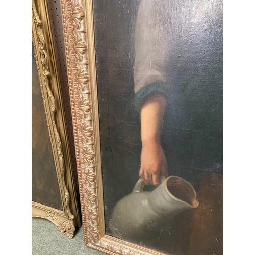 16 - Circle of Isidor Kaufman, C1853-1921, Oil on canvas,
