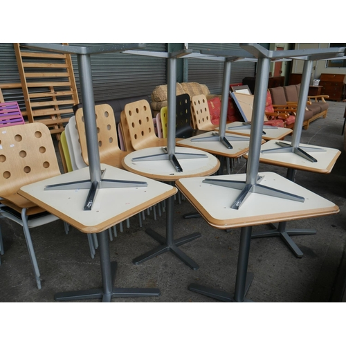 3 - 24 RESTAURANT CHAIRS & 12 TABLES...