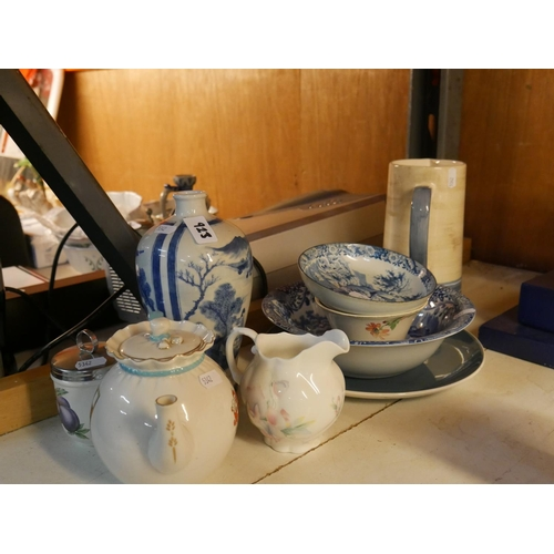 923 - LOT OF CERAMICS...