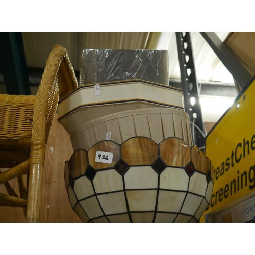 926 - LOT OF LAMPSHADES...