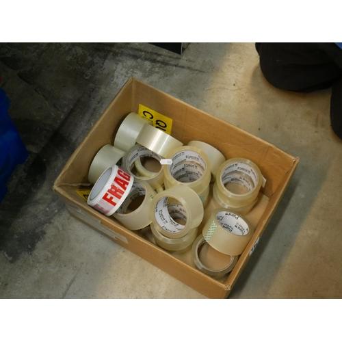 934 - BOX OF TAPE...