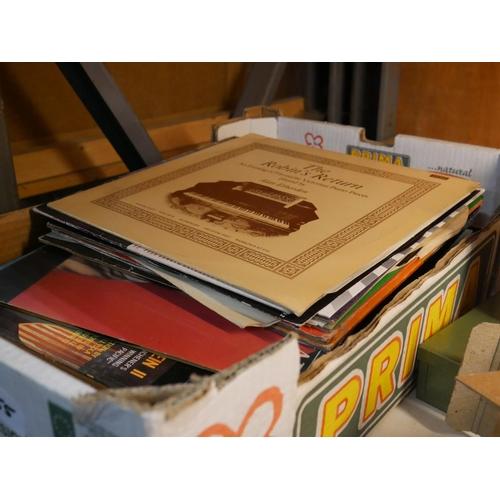 955 - BOX OF RECORDS...