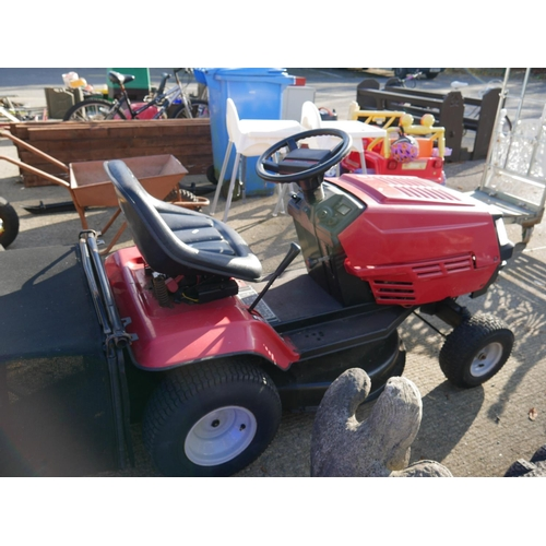 60 - RIDE ON LAWNMOWER (SERVICED)...