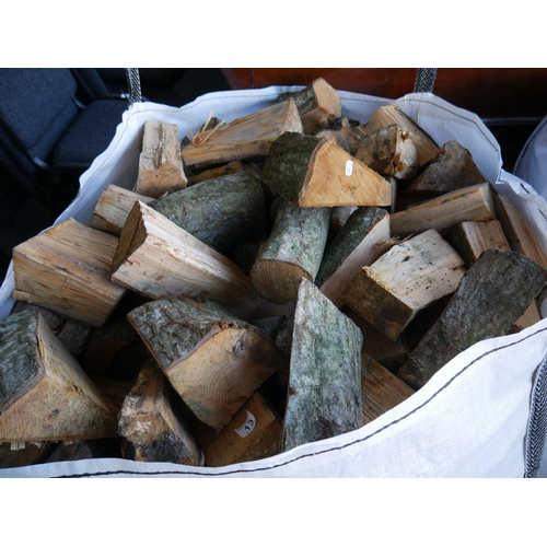 13 - TOTE BAG OF LOGS...