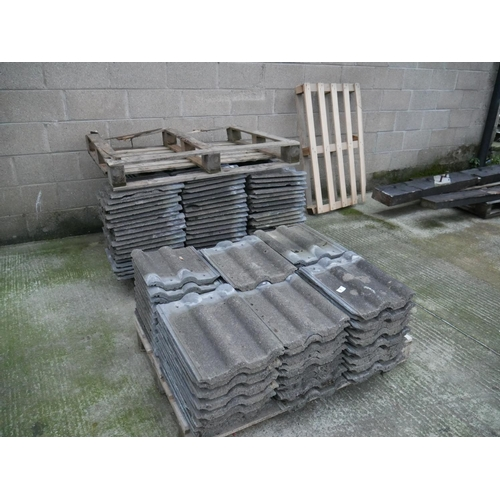 1 - LOT OF ROOF TILES...