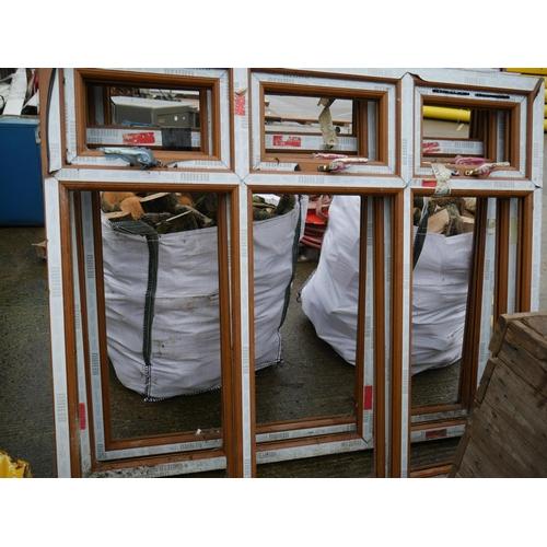 24 - 4 PVC WINDOW FRAMES...
