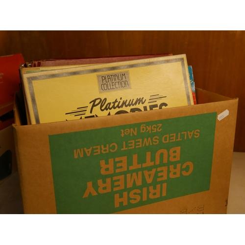 915 - BOX OF RECORDS...