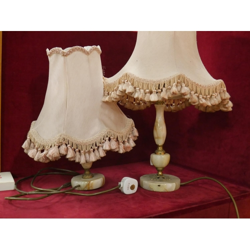 953 - 2 TABLE LAMPS...