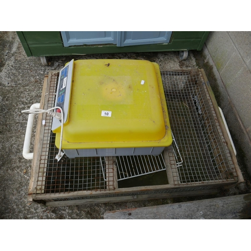 10 - INCUBATOR & POULTRY CARRIER...